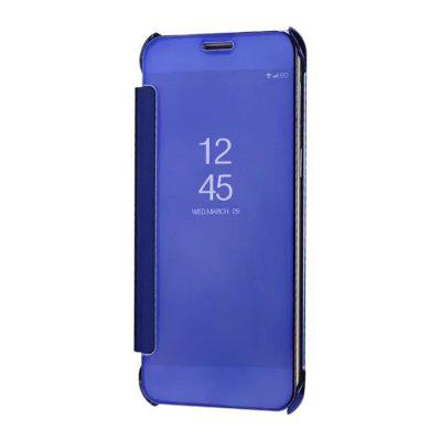 Mirror Plating Flip Ultra Thin Cover for Samsung Galaxy C8 Case