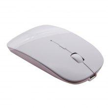 Slim Rechargeable Bluetooth Wireless Mouse Ultra-Slim Mice for Notebook PC Laptop Computer Windows / Android Tablet Mac
