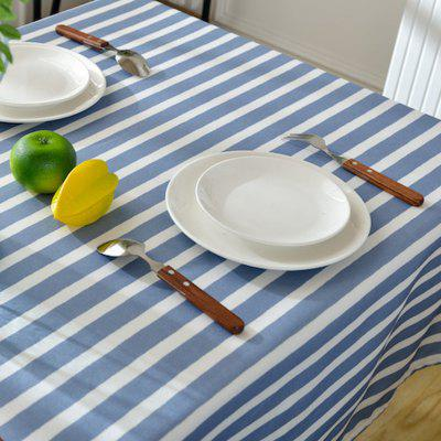 Tablecloth Prevent Hot Fabric Rectangle Stripe Cloth Sitting Room Dining RoomOther Kitchen Accessories<br>Tablecloth Prevent Hot Fabric Rectangle Stripe Cloth Sitting Room Dining Room<br><br>Package Contents: 1 x Tablecloth<br>Package size (L x W x H): 42.00 x 30.00 x 1.00 cm / 16.54 x 11.81 x 0.39 inches<br>Package weight: 1.0000 kg<br>Product size (L x W x H): 180.00 x 130.00 x 0.20 cm / 70.87 x 51.18 x 0.08 inches<br>Product weight: 0.9000 kg