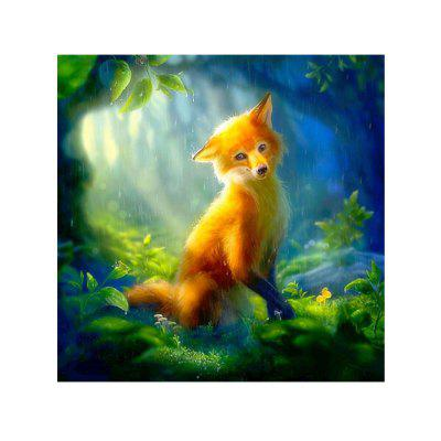 Foxes Print Draw Disegni di diamanti