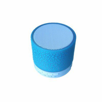 Buy Bluetooth Speaker Wireless Portable Mini LED Small Music Audio TF USB FM Stereo Sound Speaker for Phone Xiaomi Computer BLUE for $7.77 in GearBest store