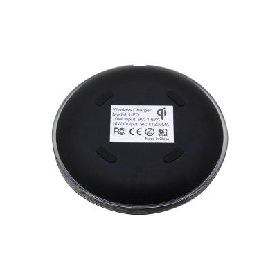 10W Portable Fast Charge Qi Wireless Charger Pad for Qi-devices positive qi wireless charger pad universal wireless charger receiver for micro usb cellphone