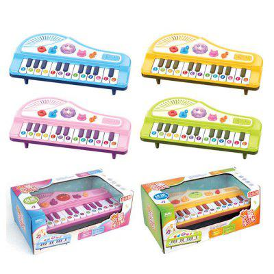 An electronic cartoon piano toy for children