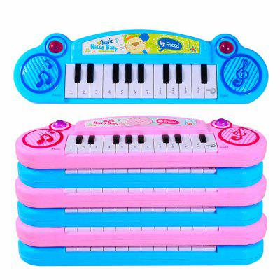 Children glow music electronic instrument to simulate piano toy