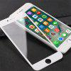 9H Carbon Fiber Tempered Glass Screen Protector for iPhone 6 Plus / 6S Plus - WHITE