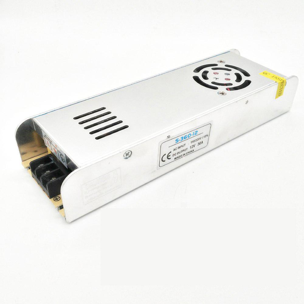 ZDM High Quality 12V 360W Constant Voltage Fan Cooling AC/DC Switching Power Supply Converter(AC110 / 220V)