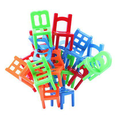 Puzzle Environmental Protection ABS Plastic Balance Chairs Board Game Children Educational ToyBlock Toys<br>Puzzle Environmental Protection ABS Plastic Balance Chairs Board Game Children Educational Toy<br><br>Gender: Unisex<br>Materials: Plastic<br>Package Contents: 1x set of toys<br>Package size: 20.50 x 15.00 x 3.50 cm / 8.07 x 5.91 x 1.38 inches<br>Package weight: 0.1500 kg<br>Product size: 5.10 x 2.80 x 2.80 cm / 2.01 x 1.1 x 1.1 inches<br>Product weight: 0.1200 kg<br>Suitable Age: Kid<br>Theme: Buildings<br>Type: Building
