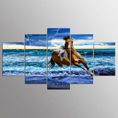 YSDAFEN 5 Pcs Tela Pittura Moderna Home Decor Wall Art Picture Soggiorno