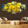 YSDAFEN 5 Pcs Canvas Art Flowe Picture Wall Art Living Room Decor Stampa - COLORI MISTI