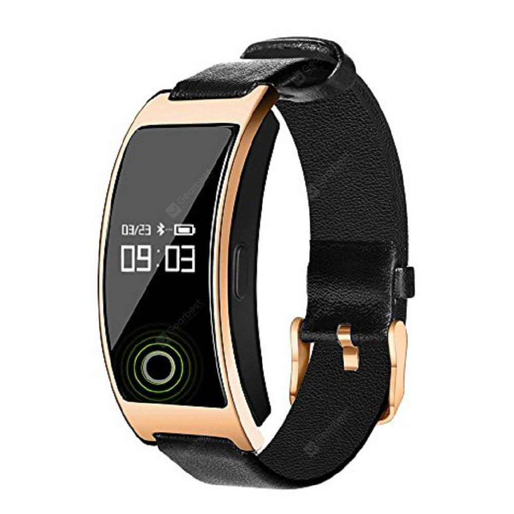 CK11S Bluetooth 4.0 Display Blood Pressure Heart Rate Monitor Smart Wristband Bracelet for Android / iOS