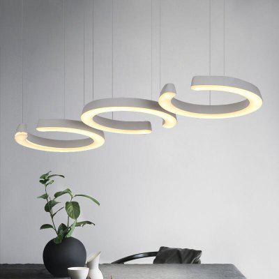 30 W Three Head Droplight of Boreal Europe Style Restaurant Dining Room of The Sitting Room Lamps and LanternsPendant Light<br>30 W Three Head Droplight of Boreal Europe Style Restaurant Dining Room of The Sitting Room Lamps and Lanterns<br><br>Battery Included: Non-preloaded<br>Bulb Base: None<br>Bulb Included: Yes<br>Bulb Type: LED<br>Chain / Cord Adjustable or Not: Chain / Cord Adjustable<br>Chain / Cord Length ( CM ): 100<br>Decoration Material: Acrylic<br>Dimmable: No<br>Features: Anti-Glare, Eye Protection, Bulb Included<br>Finish: White<br>Fixture Height ( CM ): 100<br>Fixture Length ( CM ): 27<br>Fixture Material: Metal<br>Fixture Width ( CM ): 87<br>Light Direction: Ambient Light<br>Light Source Color: Warm White<br>Number of Bulb: 1 Bulb<br>Number of Bulb Sockets: 1<br>Number of Tiers: Single Tier<br>Package Contents: 1 x Suck In Particular , 2 x screw<br>Package size (L x W x H): 92.00 x 33.00 x 15.00 cm / 36.22 x 12.99 x 5.91 inches<br>Package weight: 6.0000 kg<br>Product size (L x W x H): 87.00 x 27.00 x 100.00 cm / 34.25 x 10.63 x 39.37 inches<br>Product weight: 5.5000 kg<br>Remote Control Supported: No<br>Shade Material: Acrylic<br>Stepless Dimming: No<br>Style: LED, Simple Style<br>Suggested Room Size: 10 - 15?<br>Suggested Space Fit: Bedroom,Cafes,Indoor,Living Room<br>Type: Ceiling Light<br>Voltage ( V ): 220V - 240V<br>Wattage (W): 30W<br>Wattage per Bulb ( W ): 30