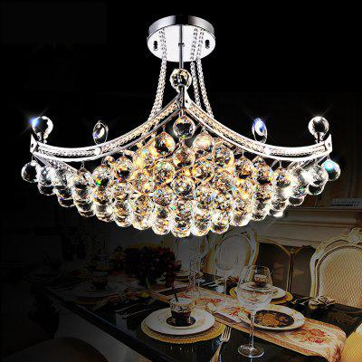 Designer Circular Dining-Room Crystal Droplight Sitting Room Porch Corridor Balcony Small Droplight Hallway Clothing Sto