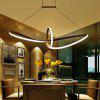 Modern White LED Pendant lamp Creative Style for Office Room  Living Dining Room Bedrooms - WARM WHITE