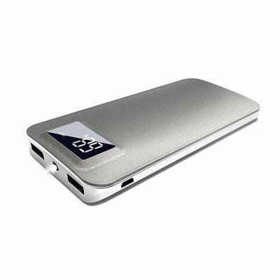 10000mAh Power Bank with Safety Charging Conversion System and Ultra Slim with Screen for iPhoneX 7Plus 8 6Plus/iPad