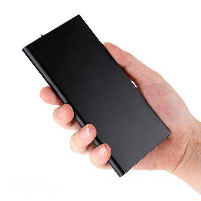 10000 mAh Portable Power Bank with 2 USB Ports Mobile Charger External Battery Backup Ultra Slim Thin PowerbankPower Banks<br>10000 mAh Portable Power Bank with 2 USB Ports Mobile Charger External Battery Backup Ultra Slim Thin Powerbank<br><br>Battery Brand: PUDE<br>Battery Current: 2A<br>Battery Type: Li-Polymer Battery<br>Capacity (mAh): 10000mAh<br>Capacity Range: 7500-10000mAh<br>Charging current: 2A<br>Charging Time: 8 hours<br>Connection Type: Two USB Output Interface, Micro USB<br>Input: 5V2A<br>Life span: 600 cycle<br>Mainly Compatible with: Motorola, Ipad 4, Ipad Mini, iPod, Universal, iPad, Samsung S6, iPhone 5/5S, iPhone 6, iPhone 6 Plus, iPhone 6S, Nokia Lumia 920/820, Google Nexus 4/5, FDD-LTE 1800/2600MHz, HTC 8X, Sony Ericsson, LG, HTC One M9, Z3 Compact, Xperia Z3, Blackberry, Nokia, HTC, SAMSUNG, Apple, GPS, MP3, MP4, Lumia 830, Zenfone, GALAXY Mega2, Galaxy Note 4, Galaxy Note 3 N9000, Samsung Galaxy S3 I9300, Samsung Galaxy S4 I9500/I9505, G2, Moto X+1, D7, Mate 7, Lumia 730, Samsung Note 5<br>Material: Aluminium Alloy<br>Model: TS-1<br>Output: 5V1A?5V2A<br>Package Contents: 1 x Power Bank, 1 x USB Cable, 1 x English - Chinese User Manual<br>Package size (L x W x H): 17.50 x 9.90 x 3.10 cm / 6.89 x 3.9 x 1.22 inches<br>Package weight: 0.2700 kg<br>Product size (L x W x H): 15.30 x 7.60 x 9.80 cm / 6.02 x 2.99 x 3.86 inches<br>Product weight: 0.2150 kg<br>Type: Portable Mobile Powers