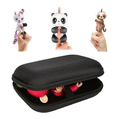 Portable Box Storage Bag Carry Case Gift for Monkey Kids Toy