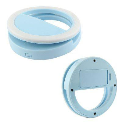 Selfie Portable LED Ring Fill Light Camera Fotografie voor iPhone Android-telefoon