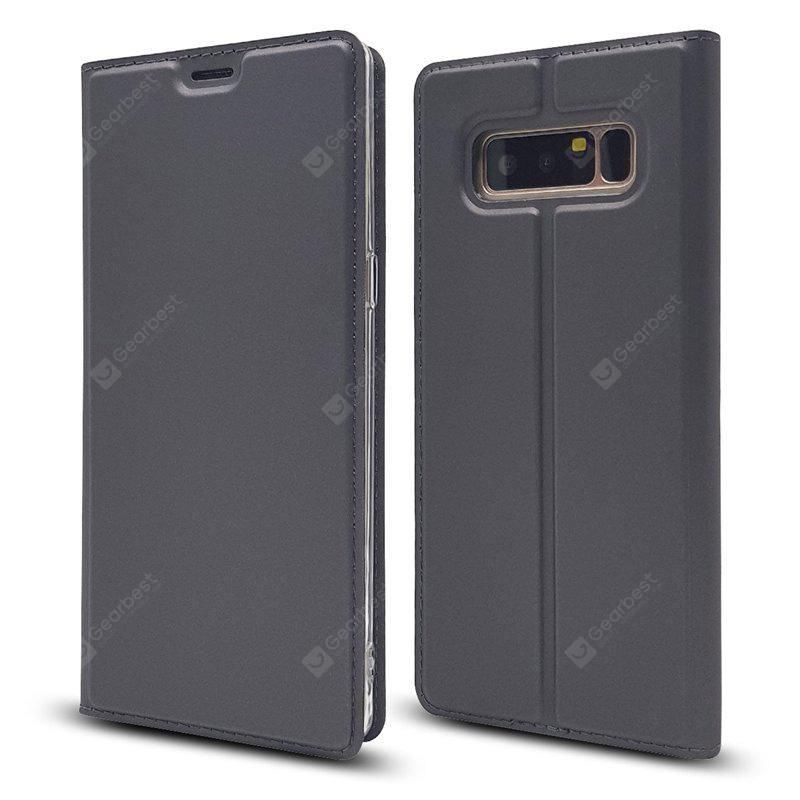 Pure Color Magnetic Pull in Ledertasche für Samsung Galaxy Note 8