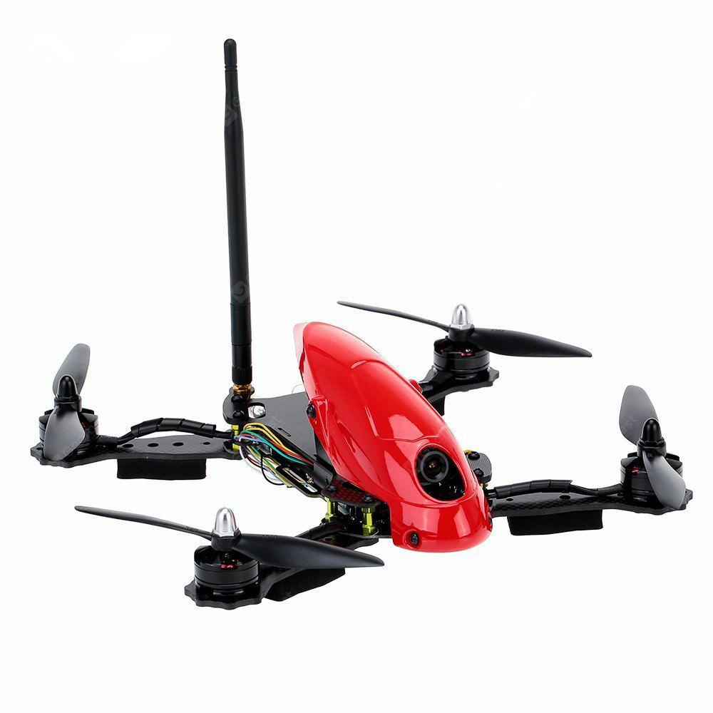 Lieber HAWK 280MM Professional 4 A-xis RC Drone with HD Camera 6 Gyro All-in-one Flight Control System FPV Racing Drone