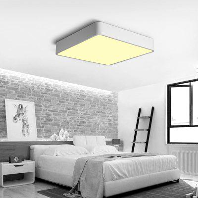 JX759 - 24W - WW Warm White Ceiling Lamp AC 220VFlush Ceiling Lights<br>JX759 - 24W - WW Warm White Ceiling Lamp AC 220V<br><br>Battery Included: No,Non-preloaded<br>Certifications: 3C,CE,FCC,RoHs<br>Color Temperature or Wavelength: 2800K<br>Dimmable: No<br>Features: Designers<br>Fixture Height ( CM ): 8CM<br>Fixture Length ( CM ): 40CM<br>Fixture Material: Metal,Plastic<br>Fixture Width ( CM ): 40CM<br>Package Contents: 1 x Ceiling Lamp, 1 x English User Manual, 4 x Screw, 4 x Colloidal Particle<br>Package size (L x W x H): 41.50 x 41.50 x 9.50 cm / 16.34 x 16.34 x 3.74 inches<br>Package weight: 3.0000 kg<br>Product size (L x W x H): 40.00 x 40.00 x 8.00 cm / 15.75 x 15.75 x 3.15 inches<br>Product weight: 2.2000 kg<br>Shade Material: Aluminum Alloy, Hardware, Plastic<br>Stepless Dimming: No<br>Style: Chic &amp; Modern, Simple Style, Modern/Contemporary, LED<br>Suggested Room Size: 10 - 15?<br>Suggested Space Fit: Bedroom,Cafes,Dining Room,Indoors,Office,Study Room<br>Type: Semi-Flushmount Lights<br>Voltage ( V ): AC220