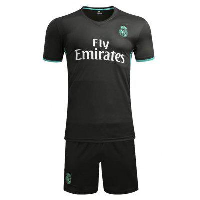 Tuta da calcio a maniche corte Real Madrid Jerseys 16-17-18