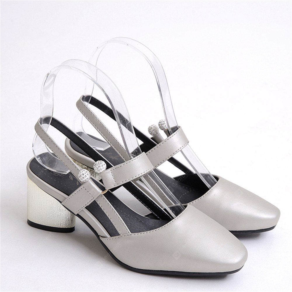 Shoe Miss 519 Square Head and Fashion Casual Shoes