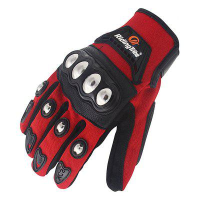 Riding Tribe MCS - 29 Motorcycle Racing GlovesMotorcycle Gloves<br>Riding Tribe MCS - 29 Motorcycle Racing Gloves<br><br>Accessories type: Motorcycle Gloves<br>Function: Breathable, Waterproof, Wearable, Windproof<br>Gender: Universal<br>Material: Microfiber, Nylon<br>Model: MCS - 29<br>Package Contents: 1 x Pair of Gloves<br>Package size (L x W x H): 26.00 x 15.00 x 5.00 cm / 10.24 x 5.91 x 1.97 inches<br>Package weight: 0.1600 kg<br>Product size (L x W x H): 23.00 x 11.00 x 2.50 cm / 9.06 x 4.33 x 0.98 inches<br>Product weight: 0.1200 kg<br>Size: M,L,XL