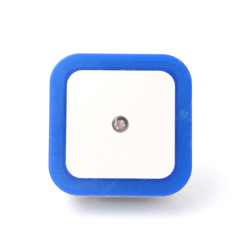 US EU Mini LED 0.5W Control Auto Sensor Baby Bedroom Lamp Square Night Light