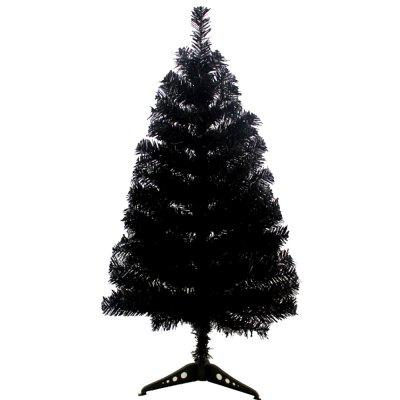 90CM Black Christmas Tree Christmas Tree Decorated with Gifts