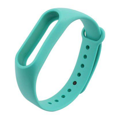 Buy APPLE SLICE Colorful Silicone Wrist Strap Bracelet 10 Color Replacement Watchband for Original 2 Xiaomi Mi Band 2 Wristband for $1.71 in GearBest store
