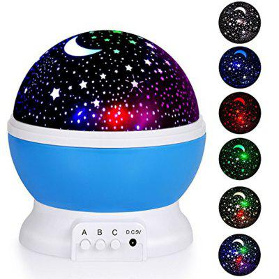 KWB Baby Night Light Starry Night Light 360 Degree Rotation Constellation Bedside Table Lamp withSB Cable for Baby Nurse