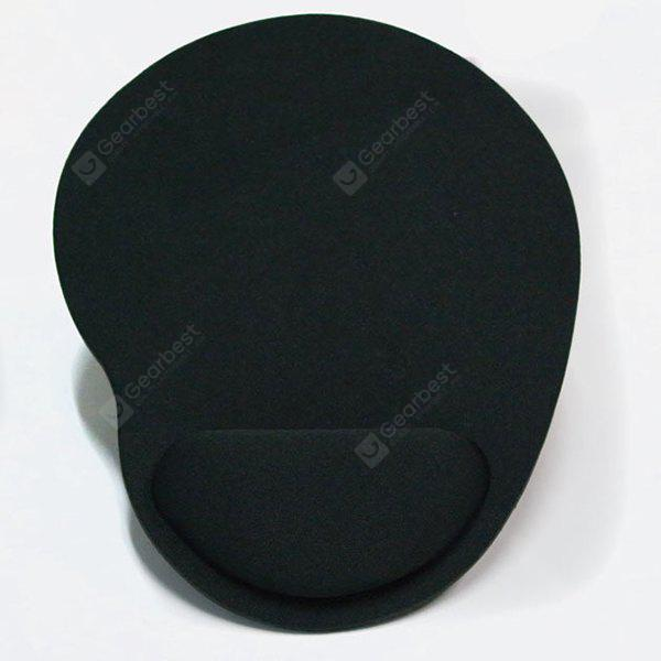 Wrist Protect Slip-proof Breathable Thicken Mouse Pad  -  BLACK