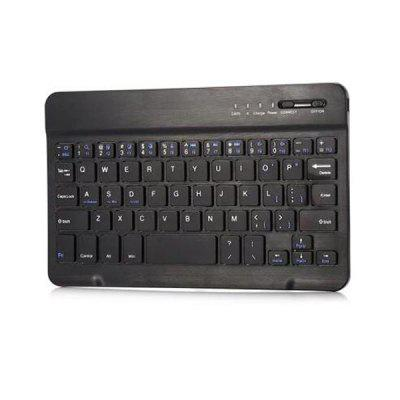 GSM - BK01 Mini Wireless Bluetooth 3.0 Keyboard  -  BLACK