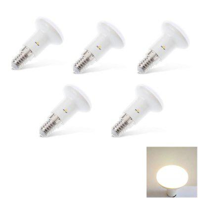 Buy WARM WHITE EXUP 5PCS R39 5W E14 220V 240V 450LM LED Spotlights 5PCS for $19.51 in GearBest store