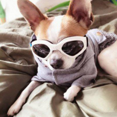 Lovoyager LVC1128 Pet Creative Fashion Heart Glasses for Dog and Cat