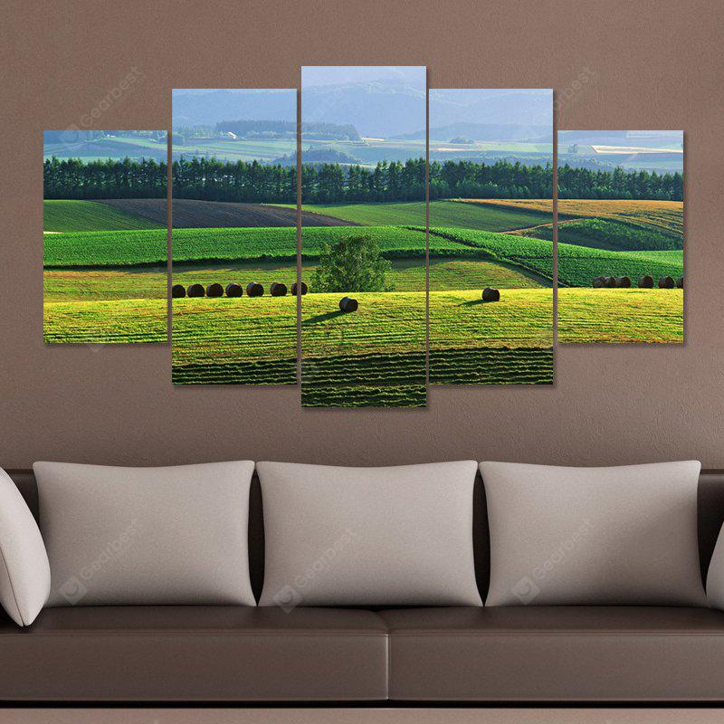 DYC 101 - 27545 5PCS Landschaft Canvas Print Kunst