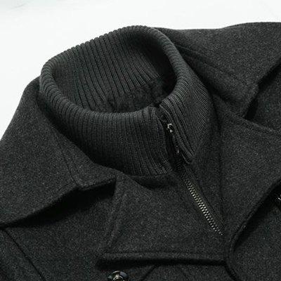 Mens Winter Thickened Warm Woolen Coat Turndown Collar Zipper Button OutwearMens Jackets &amp; Coats<br>Mens Winter Thickened Warm Woolen Coat Turndown Collar Zipper Button Outwear<br><br>Closure Type: Single Breasted<br>Clothes Type: Wool &amp; Blends<br>Collar: Turn-down Collar<br>Colors: Black,Gray,Khaki<br>Hooded: No<br>Lining Material: Polyester<br>Materials: Wool<br>Package Content: 1 x Coat<br>Package size (L x W x H): 1.00 x 1.00 x 1.00 cm / 0.39 x 0.39 x 0.39 inches<br>Package weight: 1.3560 kg<br>Pattern Type: Solid<br>Shirt Length: Regular<br>Size1: M,L,XL,2XL,3XL<br>Sleeve Style: Regular<br>Style: Casual<br>Thickness: Medium thickness