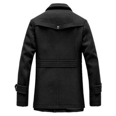 Mens Winter Thickened Warm Woolen Coat Turndown Collar Zipper Button OutwearMens Jackets &amp; Coats<br>Mens Winter Thickened Warm Woolen Coat Turndown Collar Zipper Button Outwear<br><br>Closure Type: Single Breasted<br>Clothes Type: Wool &amp; Blends<br>Collar: Turn-down Collar<br>Colors: Black,Gray,Khaki<br>Hooded: No<br>Lining Material: Polyester<br>Materials: Wool<br>Package Content: 1 x Coat<br>Package size (L x W x H): 1.00 x 1.00 x 1.00 cm / 0.39 x 0.39 x 0.39 inches<br>Package weight: 3.0000 kg<br>Pattern Type: Solid<br>Shirt Length: Regular<br>Size1: M,L,XL,2XL,3XL<br>Sleeve Style: Regular<br>Style: Casual<br>Thickness: Medium thickness
