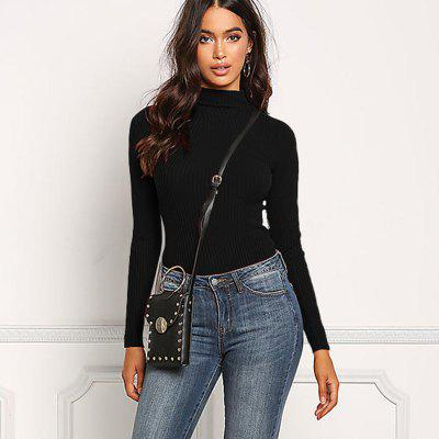 Womens Fashion Round Neck Slim Long-Sleeved SweaterSweaters &amp; Cardigans<br>Womens Fashion Round Neck Slim Long-Sleeved Sweater<br><br>Collar: Round Neck<br>Elasticity: Micro-elastic<br>Material: Polyester<br>Package Contents: 1 x Sweater<br>Sleeve Length: Full<br>Style: Fashion<br>Type: Pullovers<br>Weight: 0.1800kg