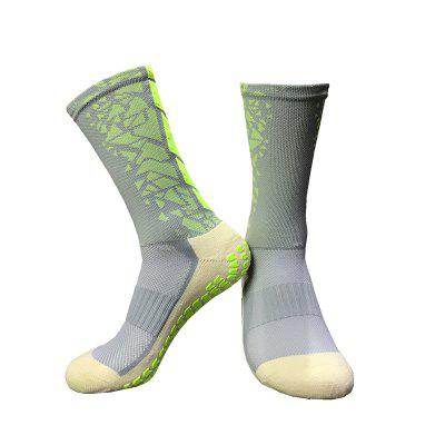Lange Tube Male Sports Anti-Rutsch-Fußball-Socken