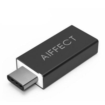 Buy BLACK AIFFECT RCA3A Type C To USB 3.0 OTG Adapter TypeC To Type A Adapter Converter OTG Functions USB C To USB OTG Converter for $4.33 in GearBest store