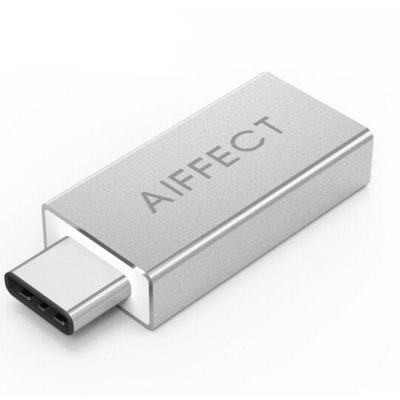 Buy SLIVER AIFFECT RCA3A Type C To USB 3.0 OTG Adapter TypeC To Type A Adapter Converter OTG Functions USB C To USB OTG Converter for $4.33 in GearBest store