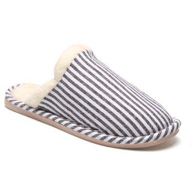 Women Winter Slippers Casual Warm Comfort Leisure Slip on Shoes