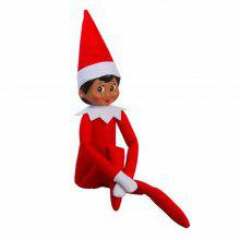 Cute Kids Christmas Gift Elf on the Shelf Plush Doll Toy