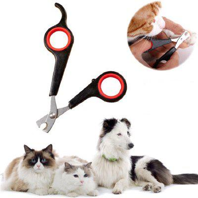 Acero inoxidable Pet Toenails Scissors Dog Nail Clippers