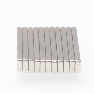 10 PCS Strong Rare Earth Metal Neodymium Magnet 20 x 5 x 2mm