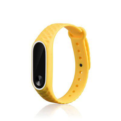 Replacement Silicone Watch Bracelet Bracelete para Xiaomi Mi Band 2