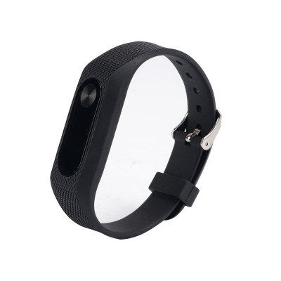 Silicone Solid Color Watch Bracelet para Xiaomi Mi Band 2