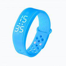 Sport Bracelet Wristwatch W6 with Time Dispaly Pedometer Sleep Monitor Fitness stat Health 3D Smart Band Wristband