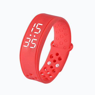 Sport Smart Bracelet W6 with Time Dispaly Pedometer Sleep Monitor Fitness Track Health 3D Smart Band Wristband